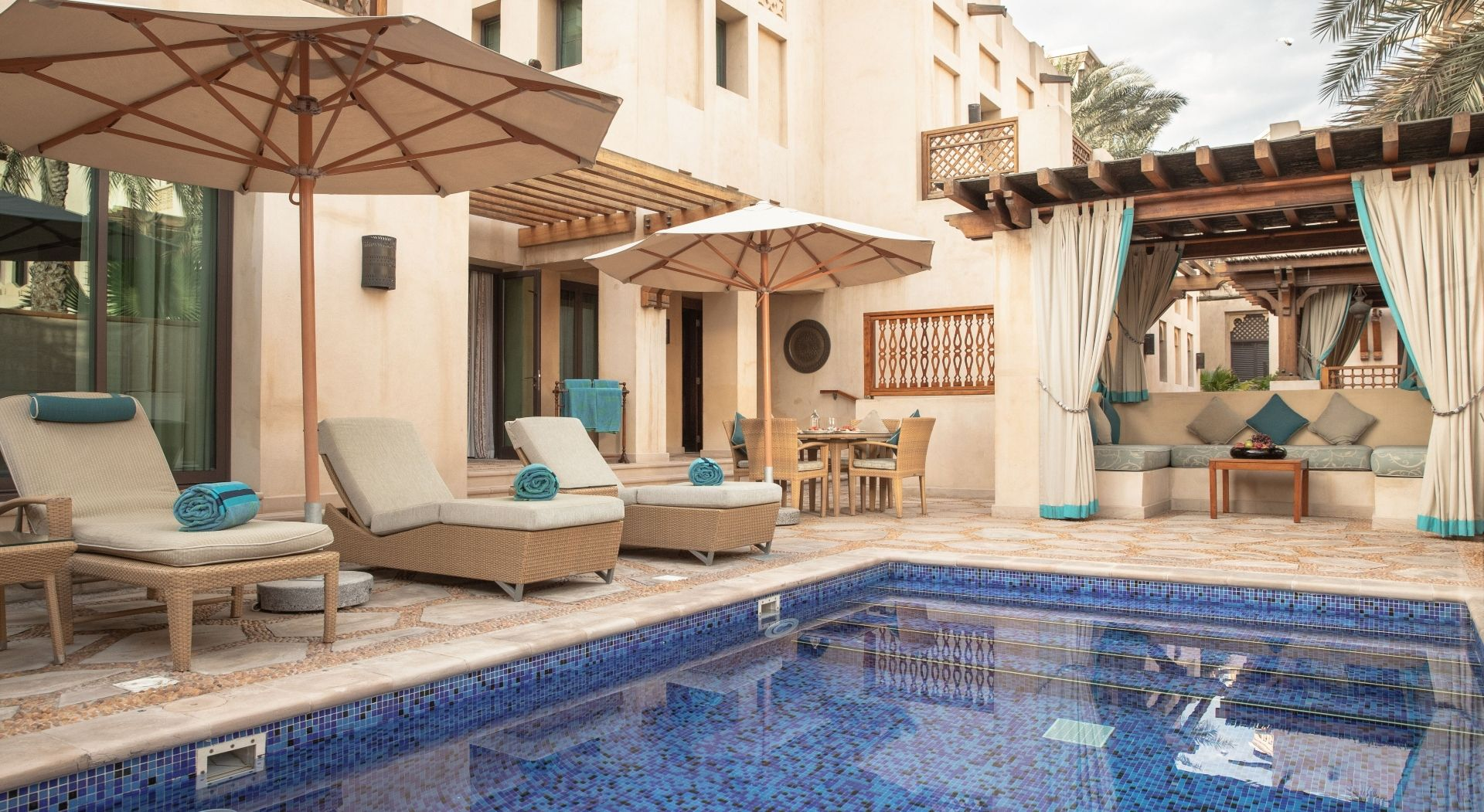 Two Bedroom Malakiya Villa – Swimming Pool