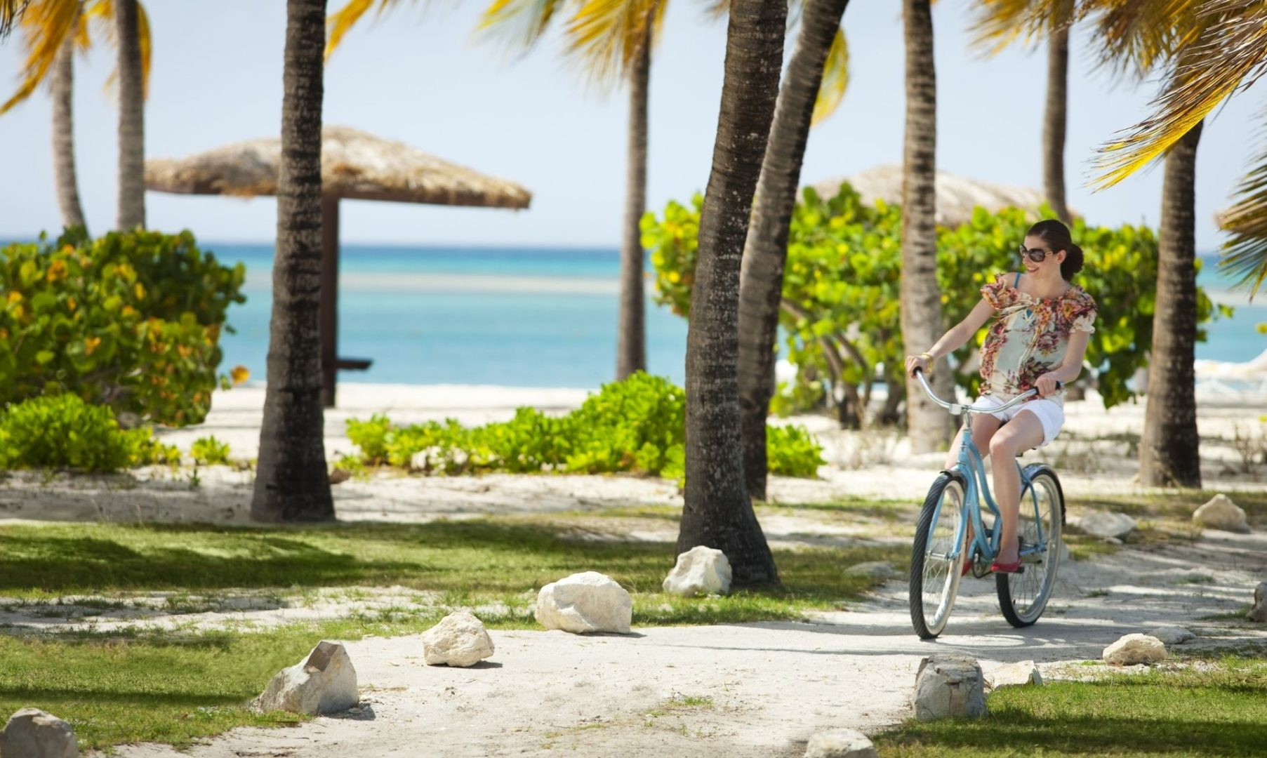 Cycle freely around the island