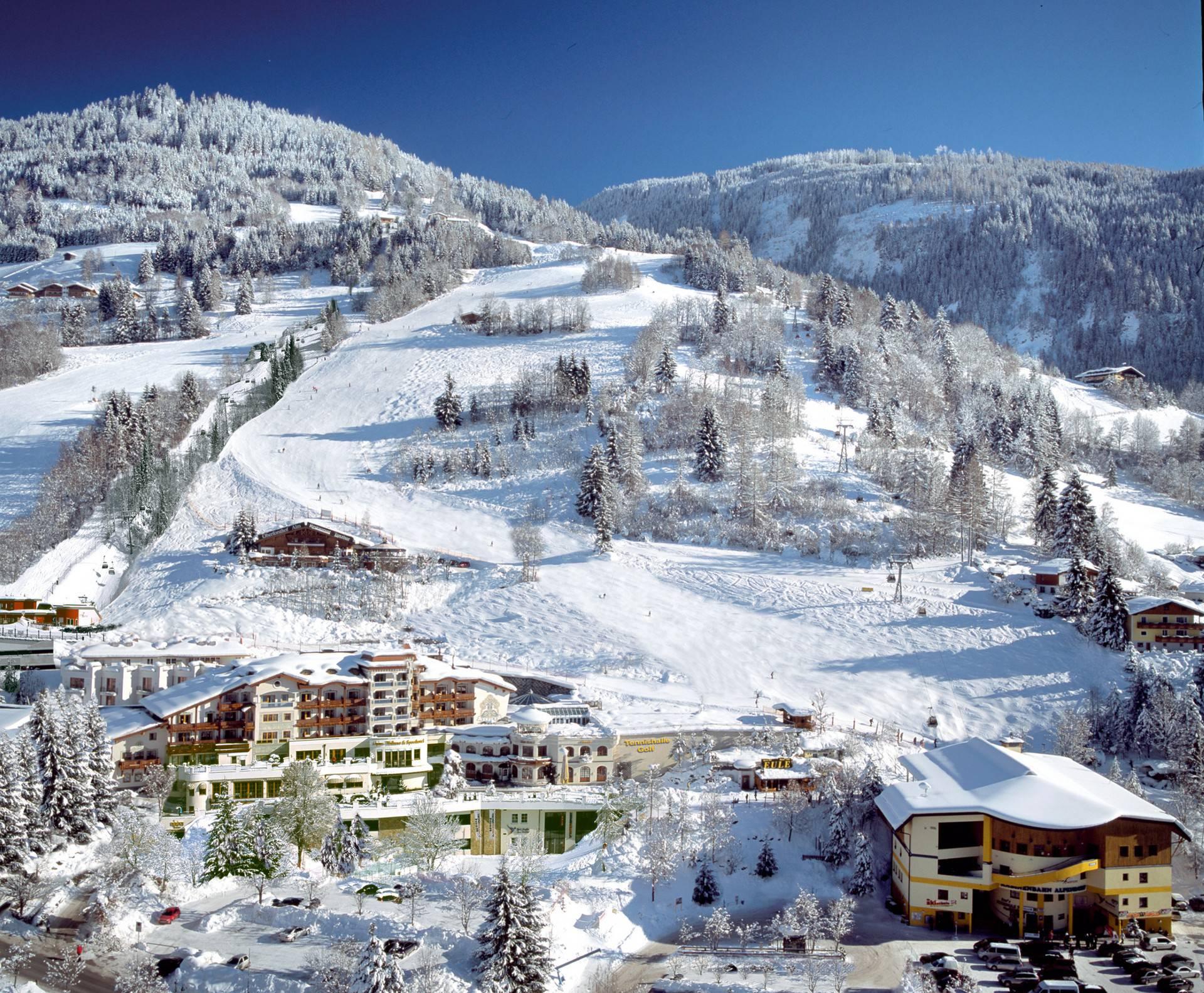 The perfect family ski venue