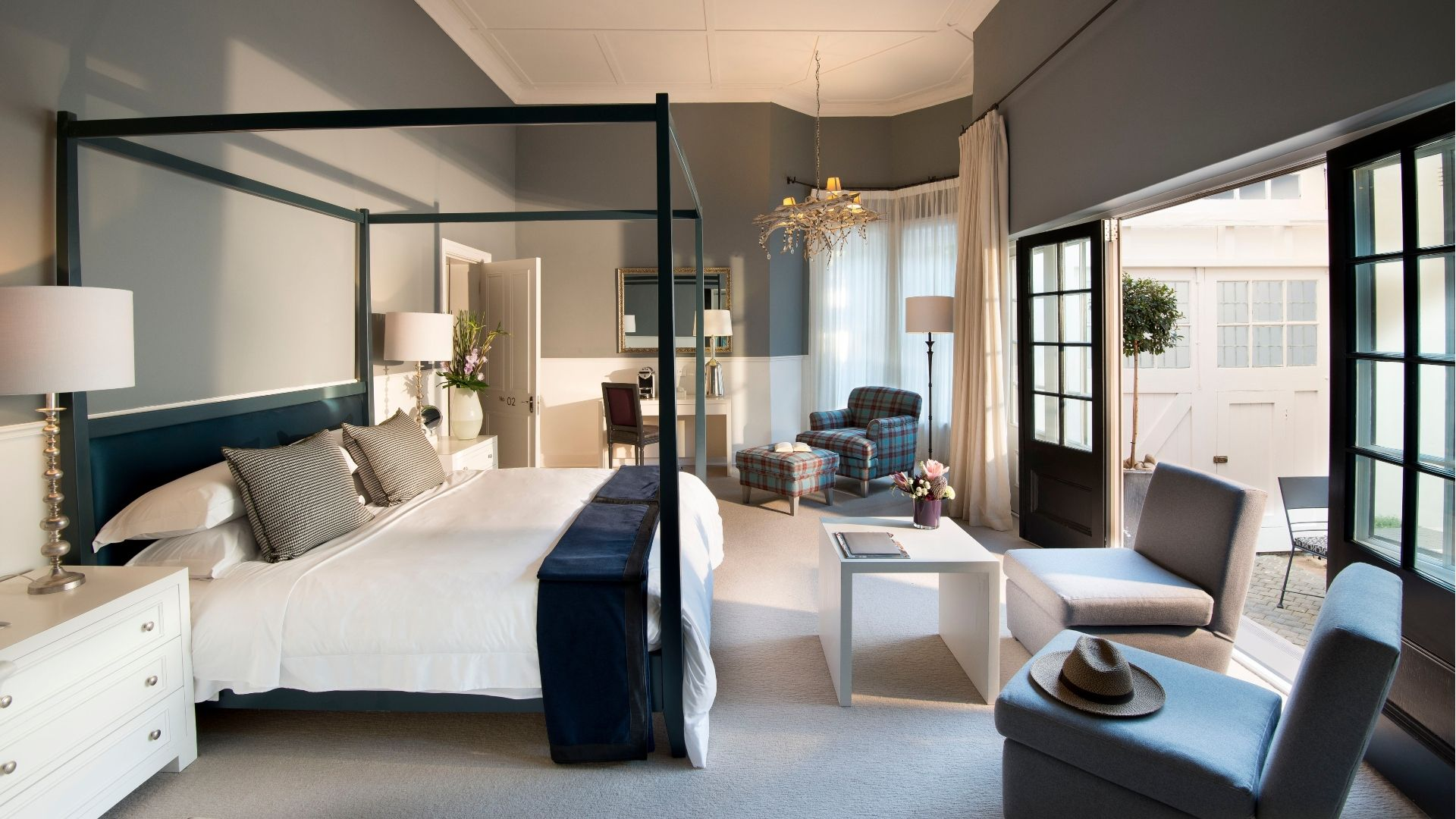 Beautifully decorated Luxury rooms
