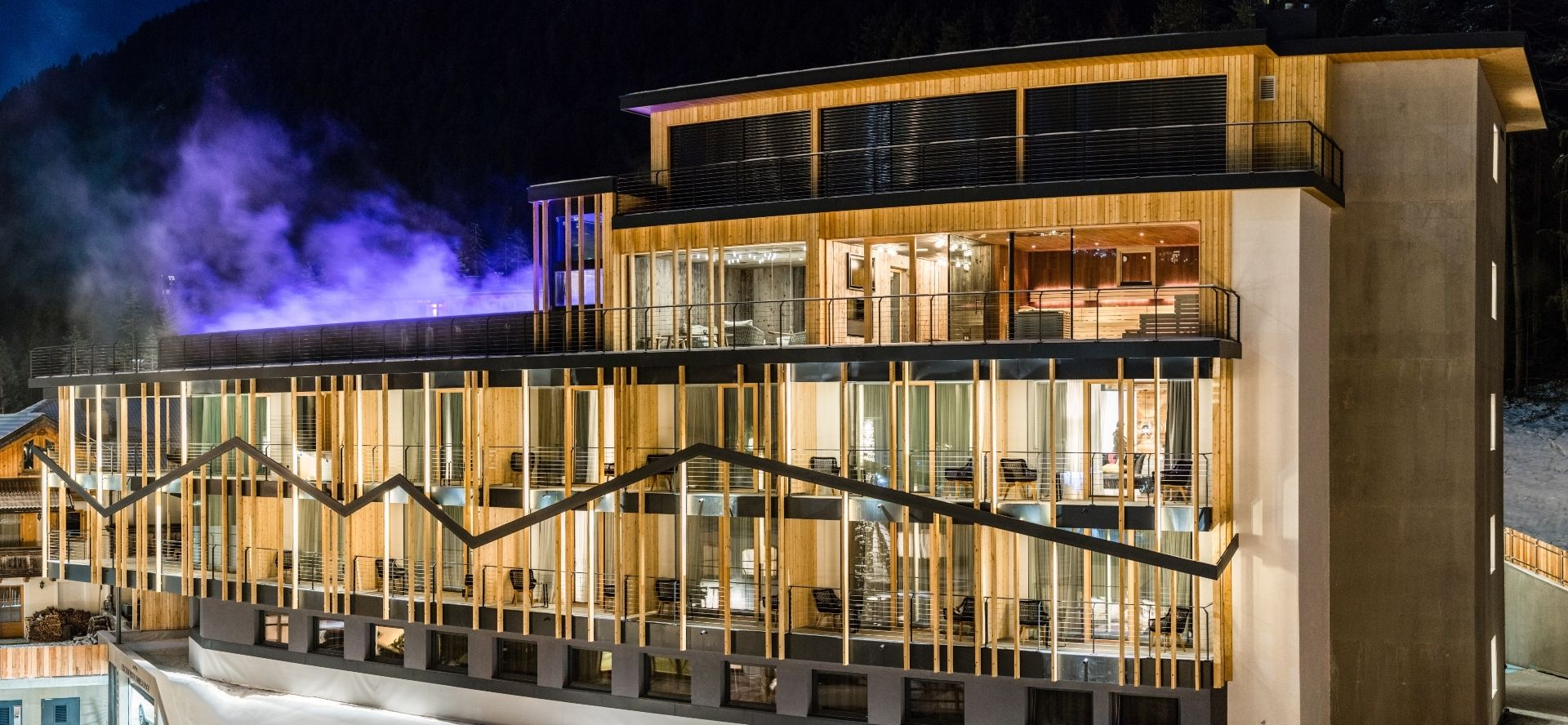 The Dolomites Lodge exterior