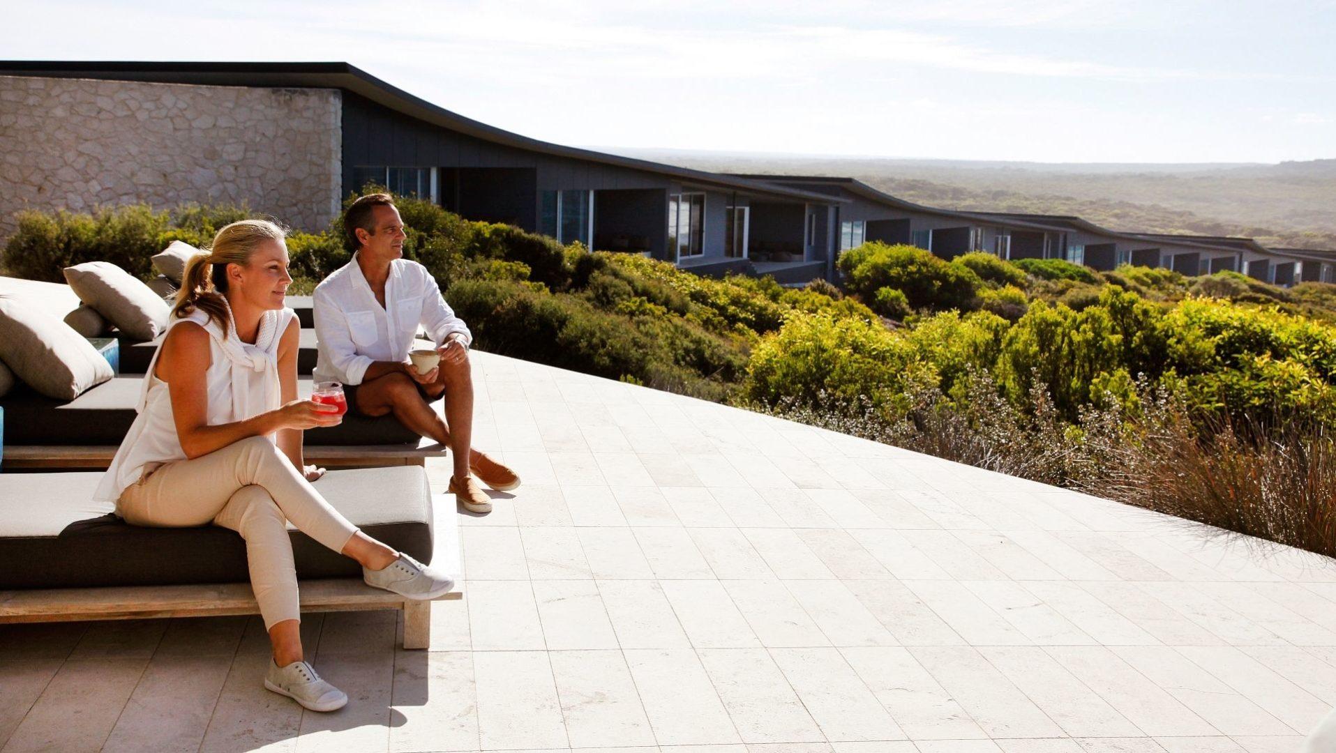 Enjoy amazing views on the terrace