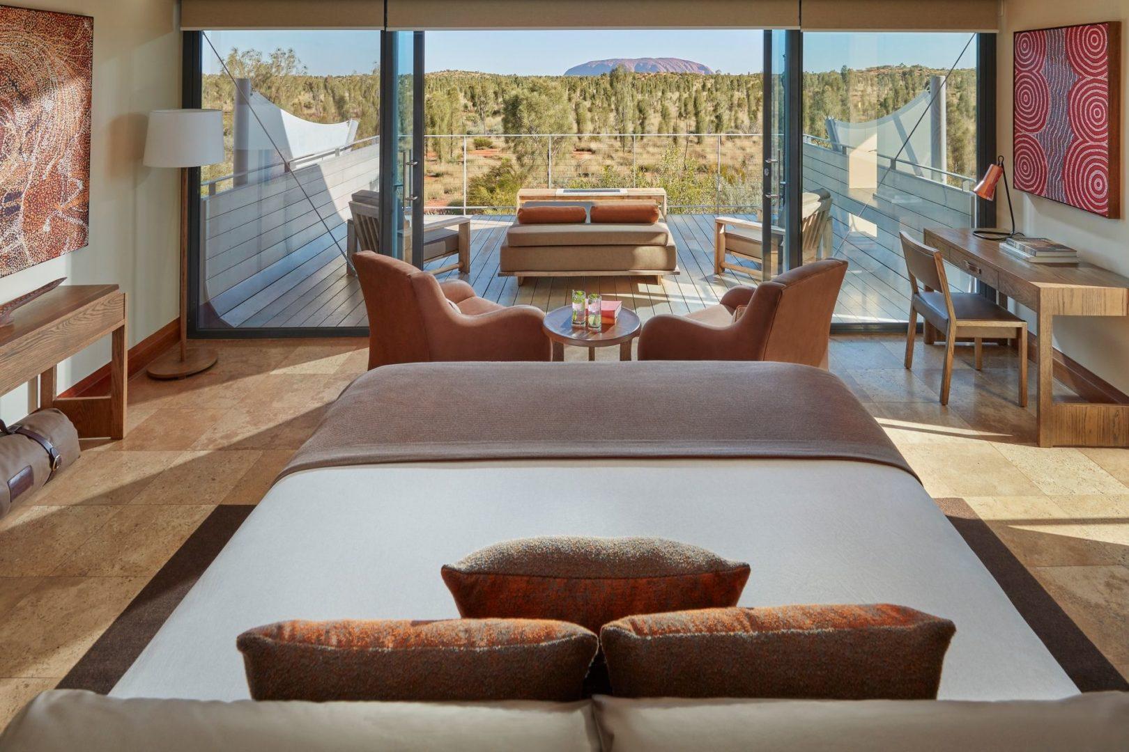 Luxury Tent views