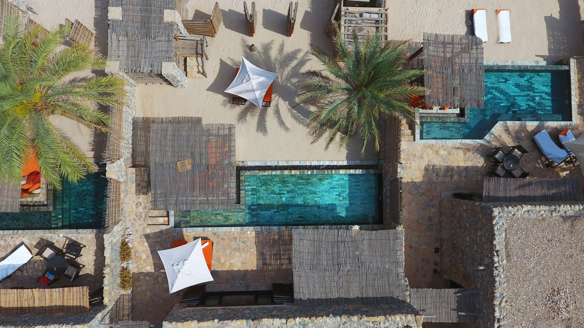 Pool Villa Suites from above