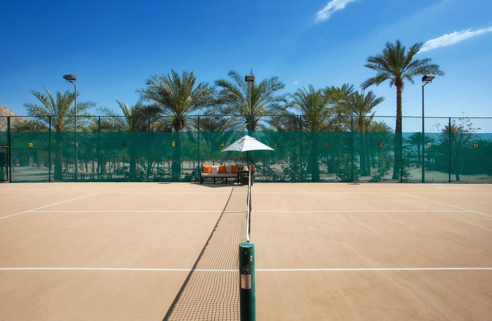 Tennis is one of many activities available
