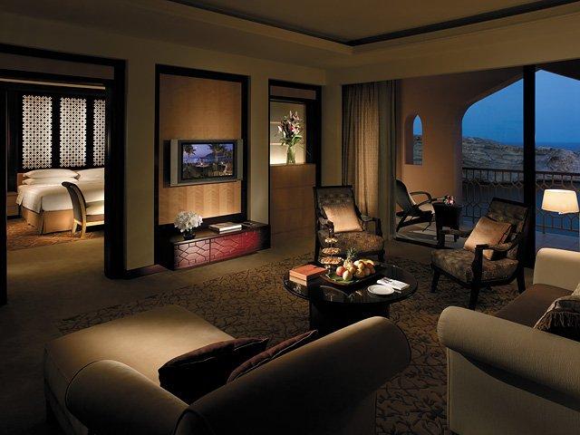 A suite at Al Husn