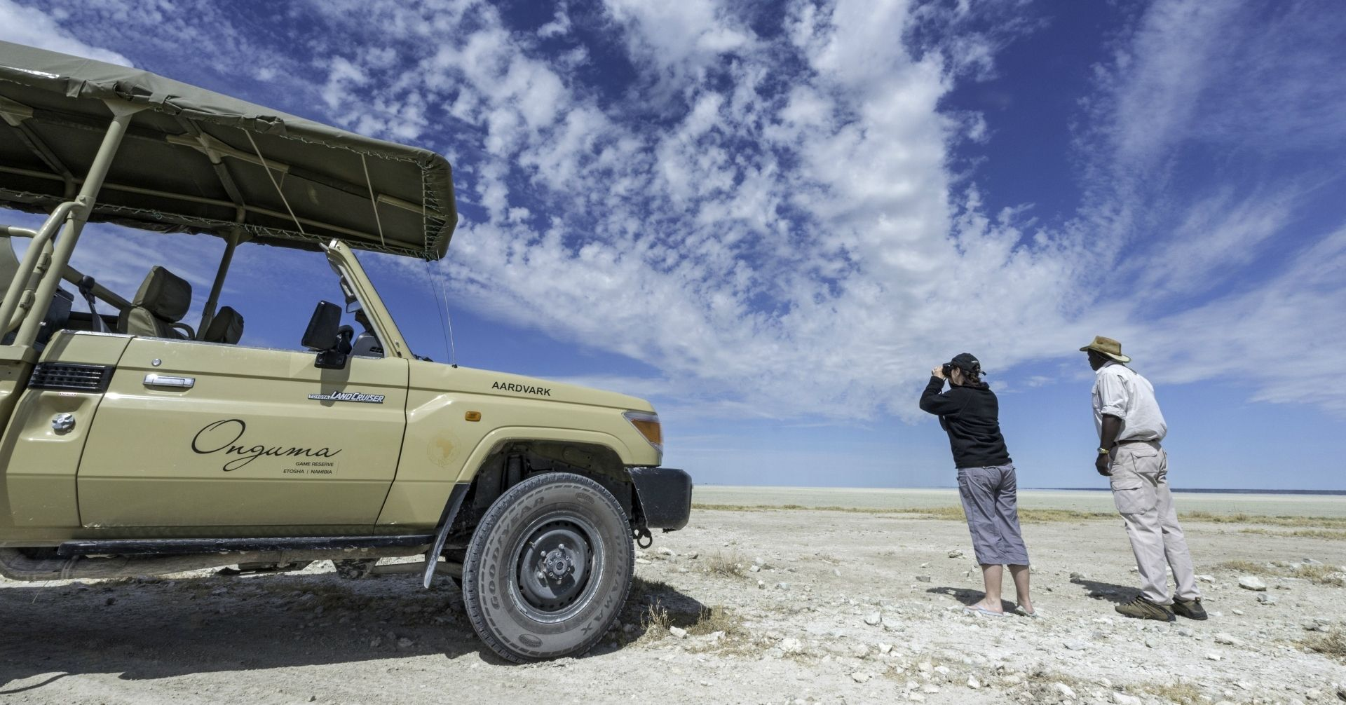Game drives in Etosha