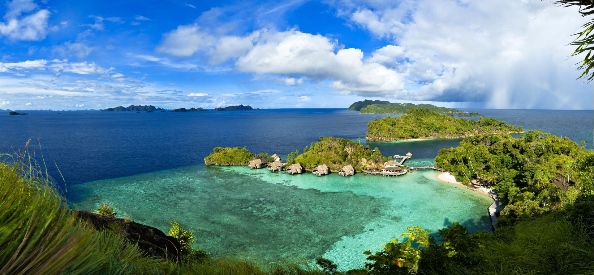 Misool set amongst wonderful Islands of Raja Ampat (Photo Credit Tobias Zimmer)