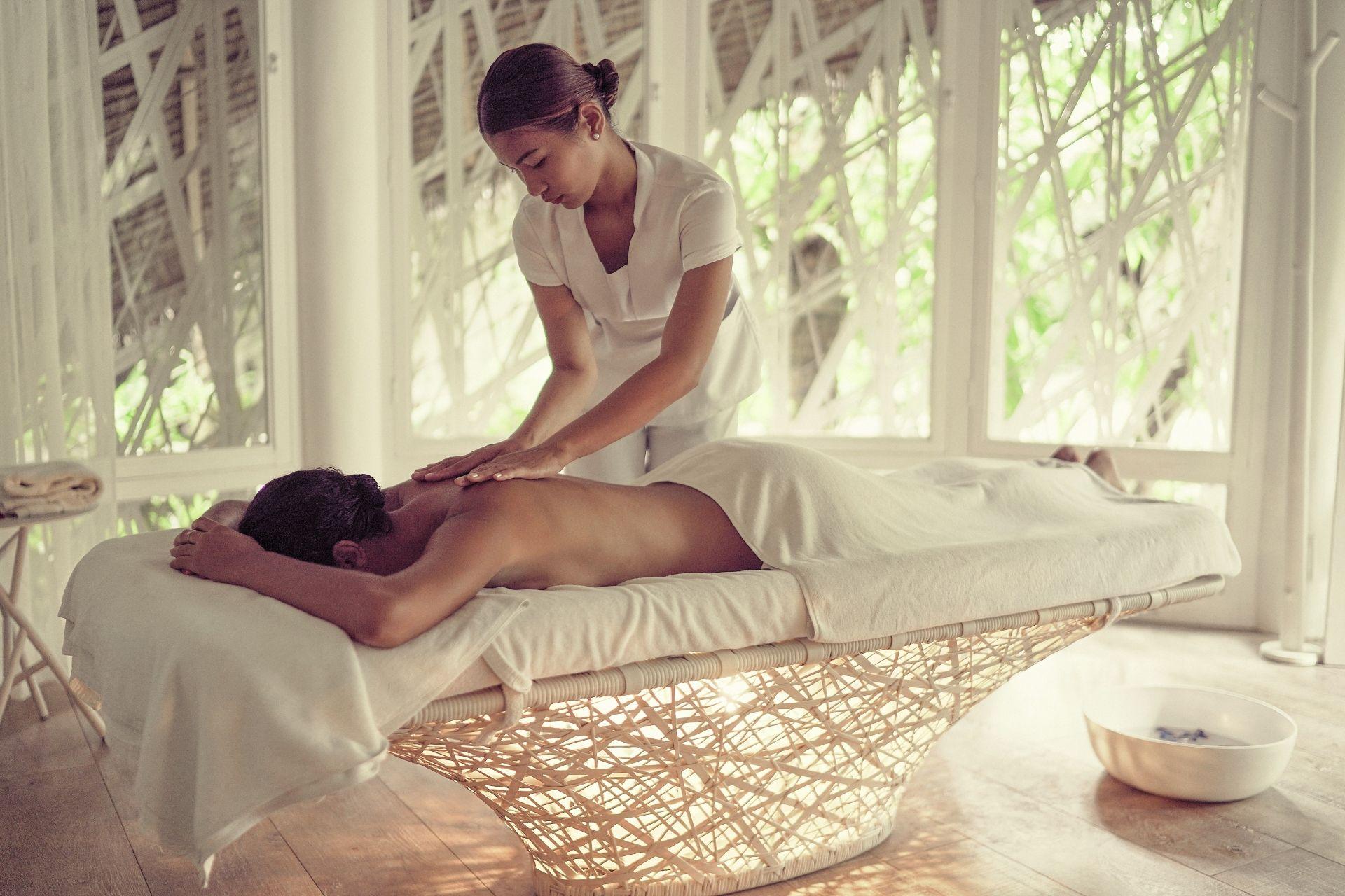 Lovely treatment (Photo credit: Phil Blandow)