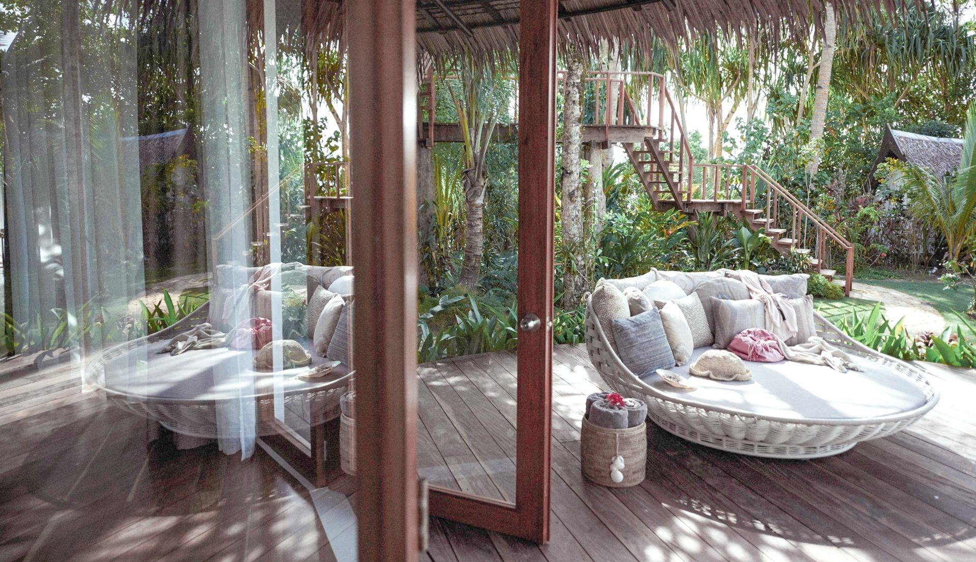 Perlah Villa terrace