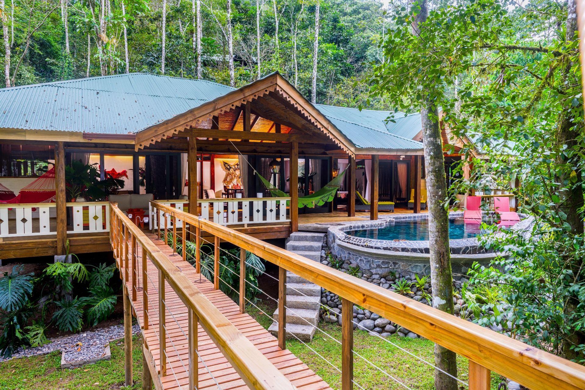 Jaguar Villa exterior