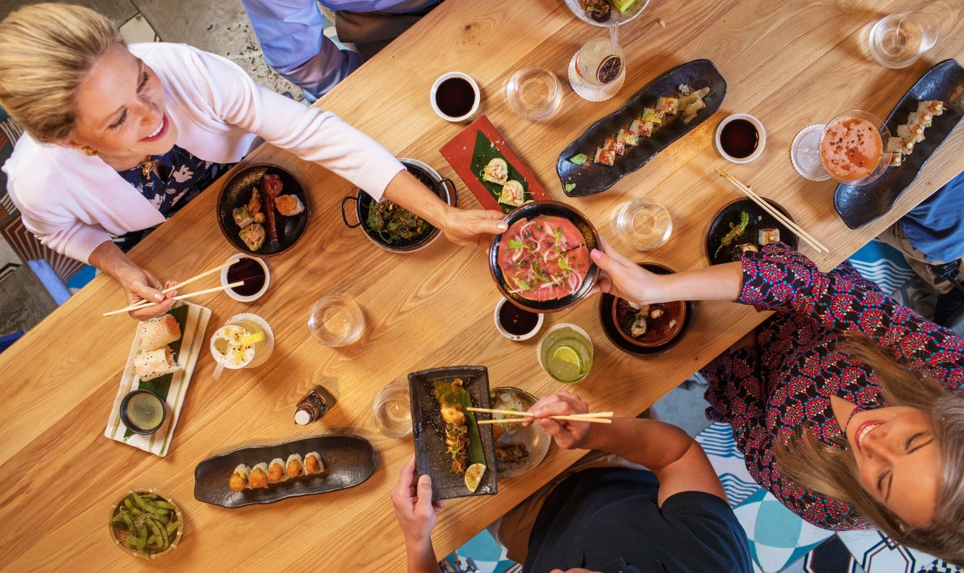 9 Restaurants to choose from