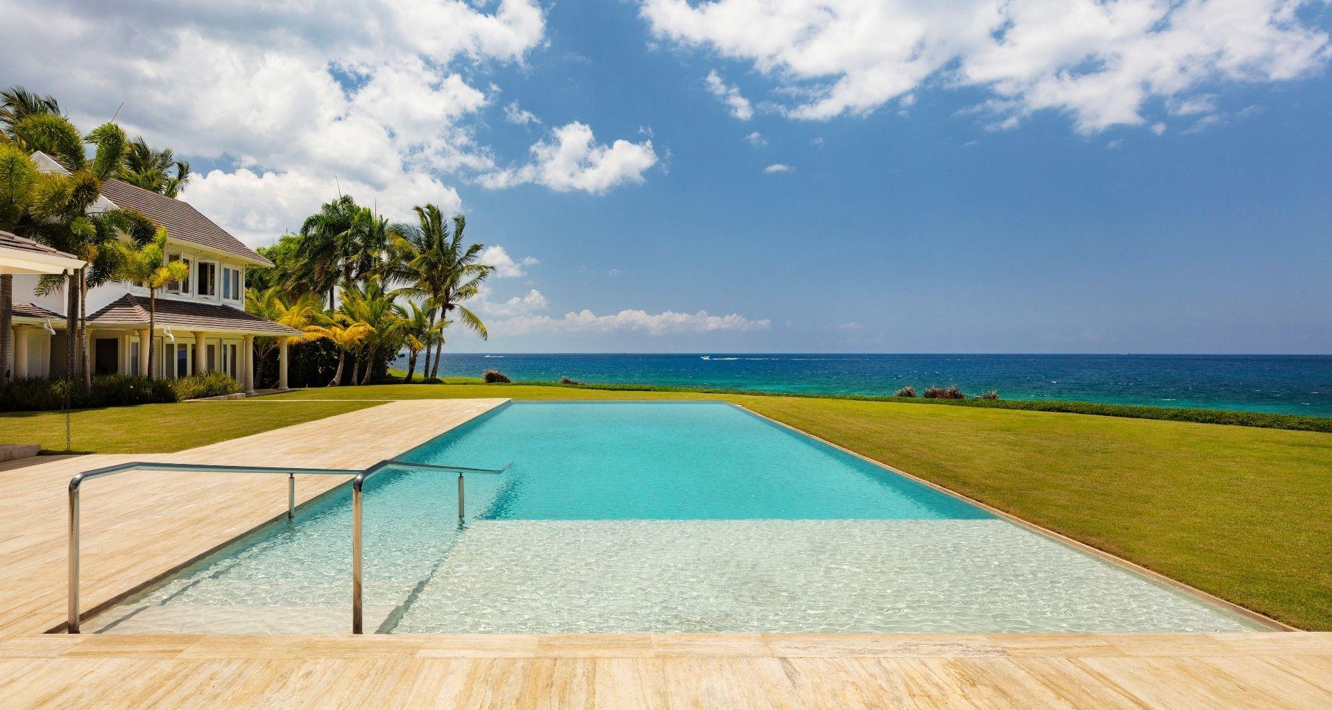 Ocean Villas right by the shore
