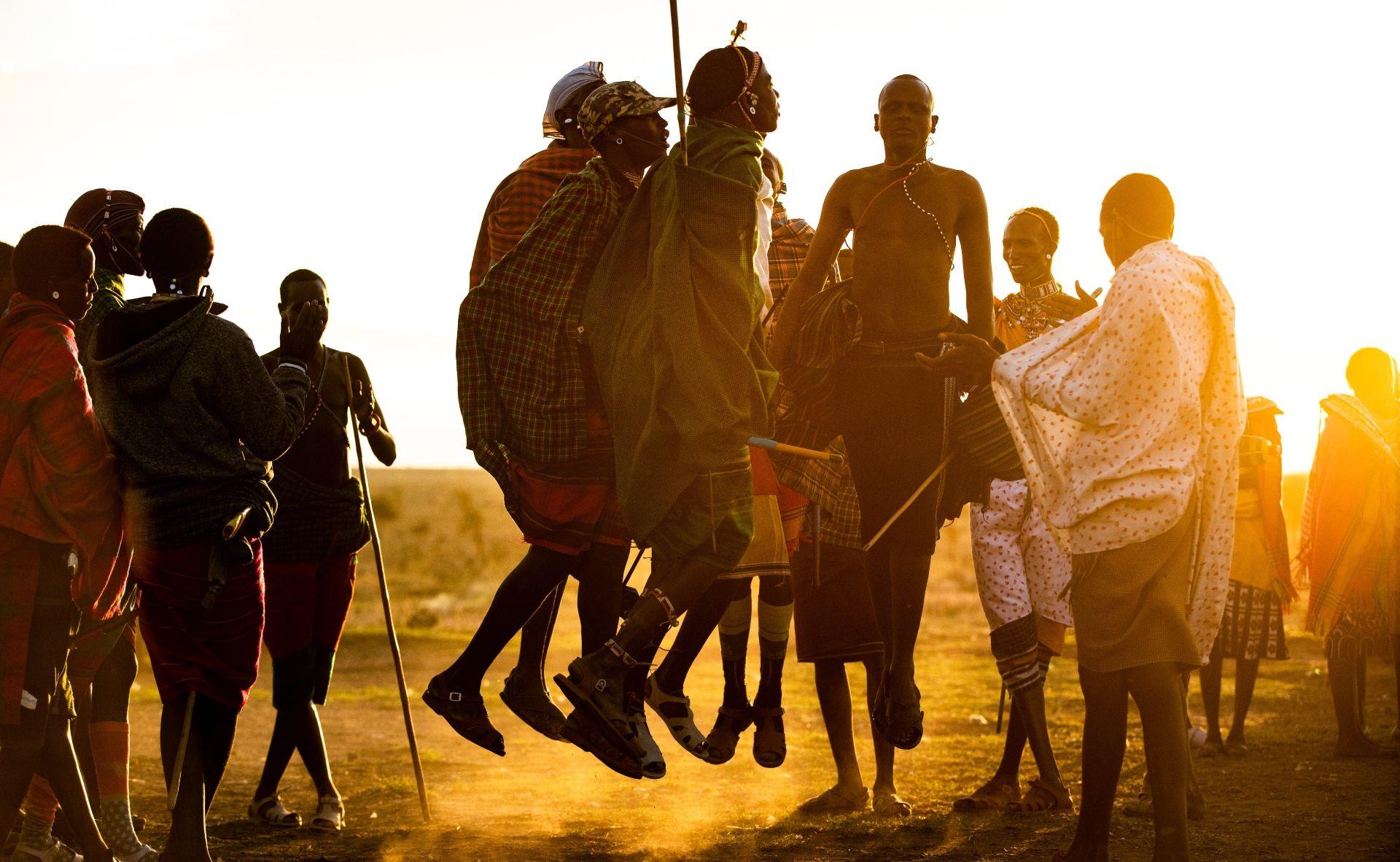 Samburu impressing the ladies