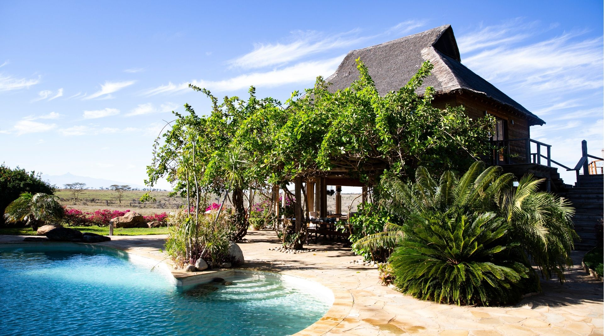 Villa Segera Pool