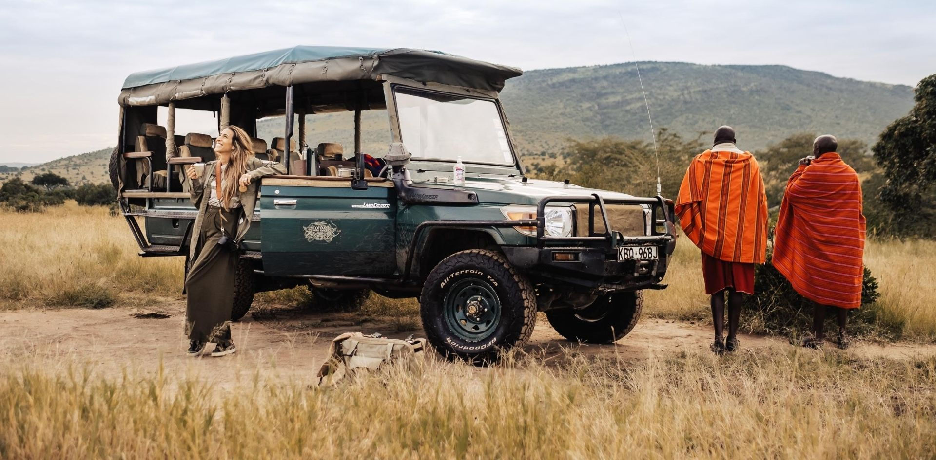 First class game drive vehicles