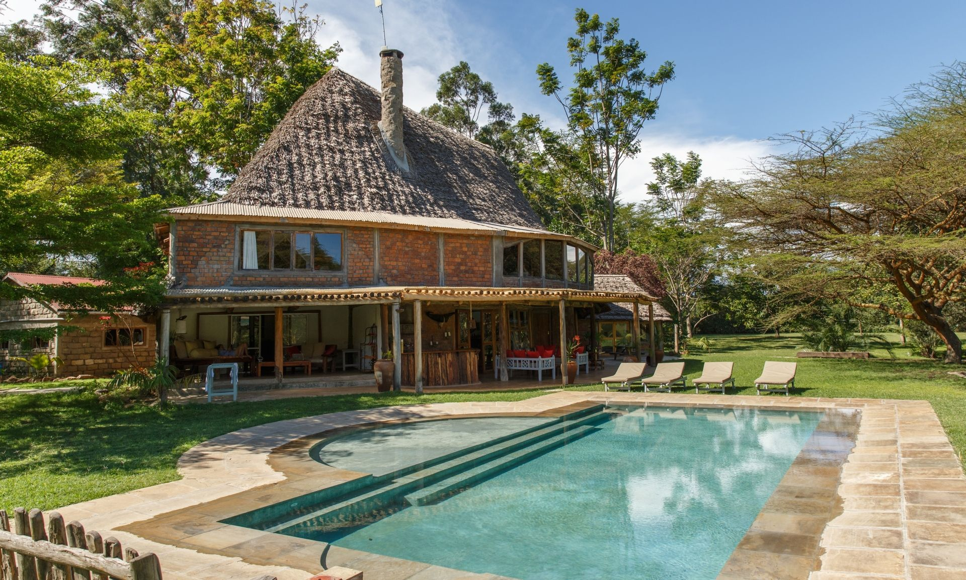Wild Villa pool