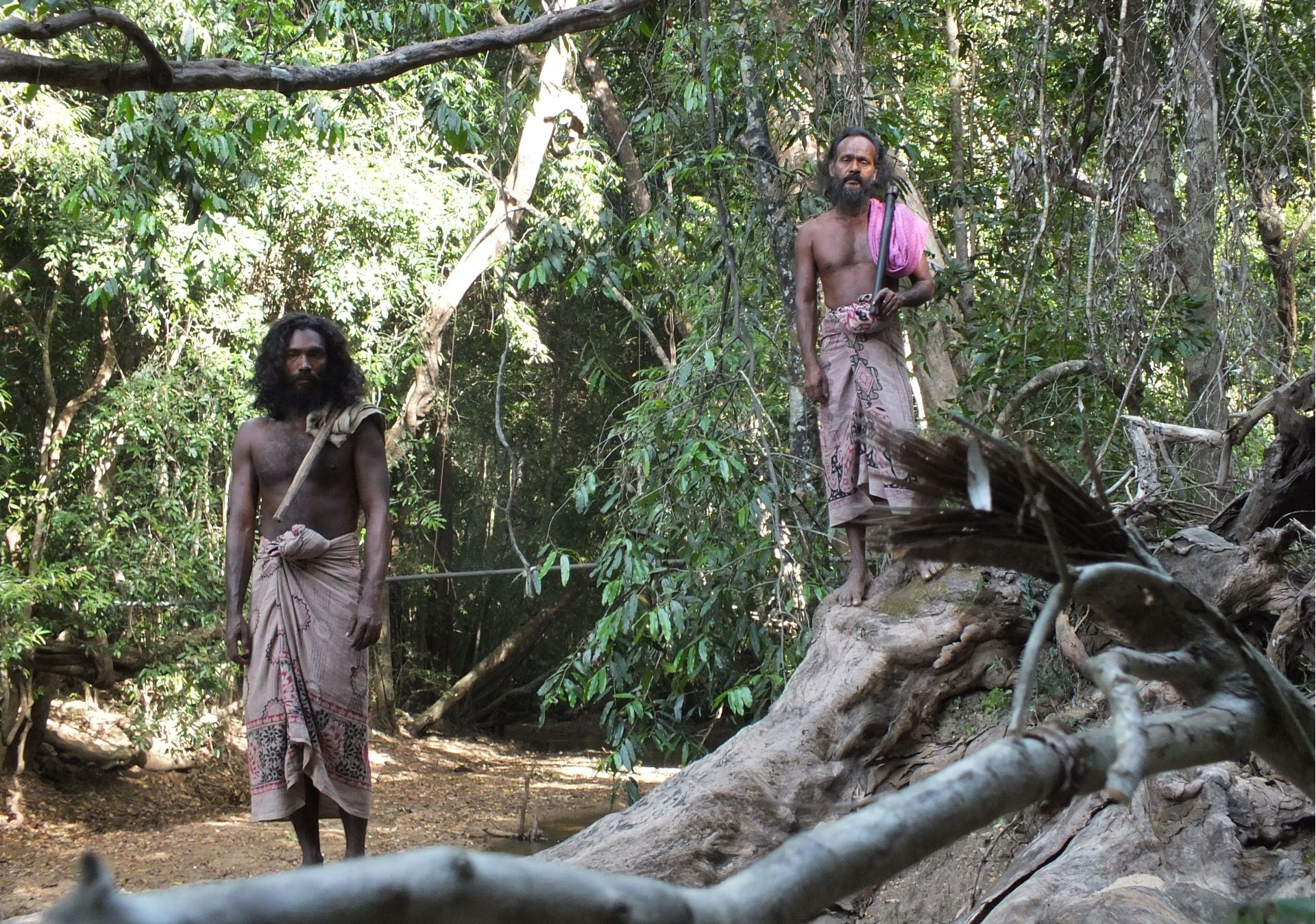 The friendly indigenous Vedda people