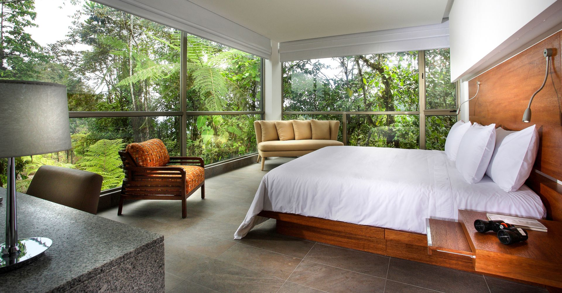 A Yaku Suite – luxury living in the canopy
