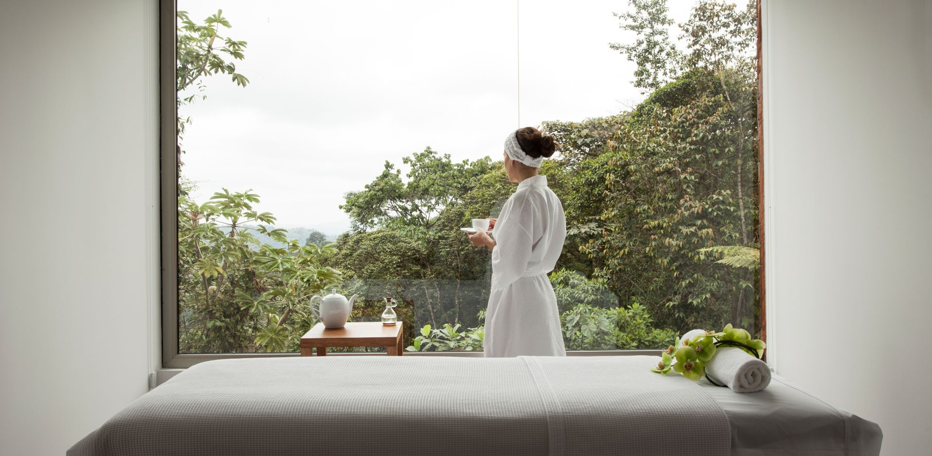 Reconnect with nature at the Spa