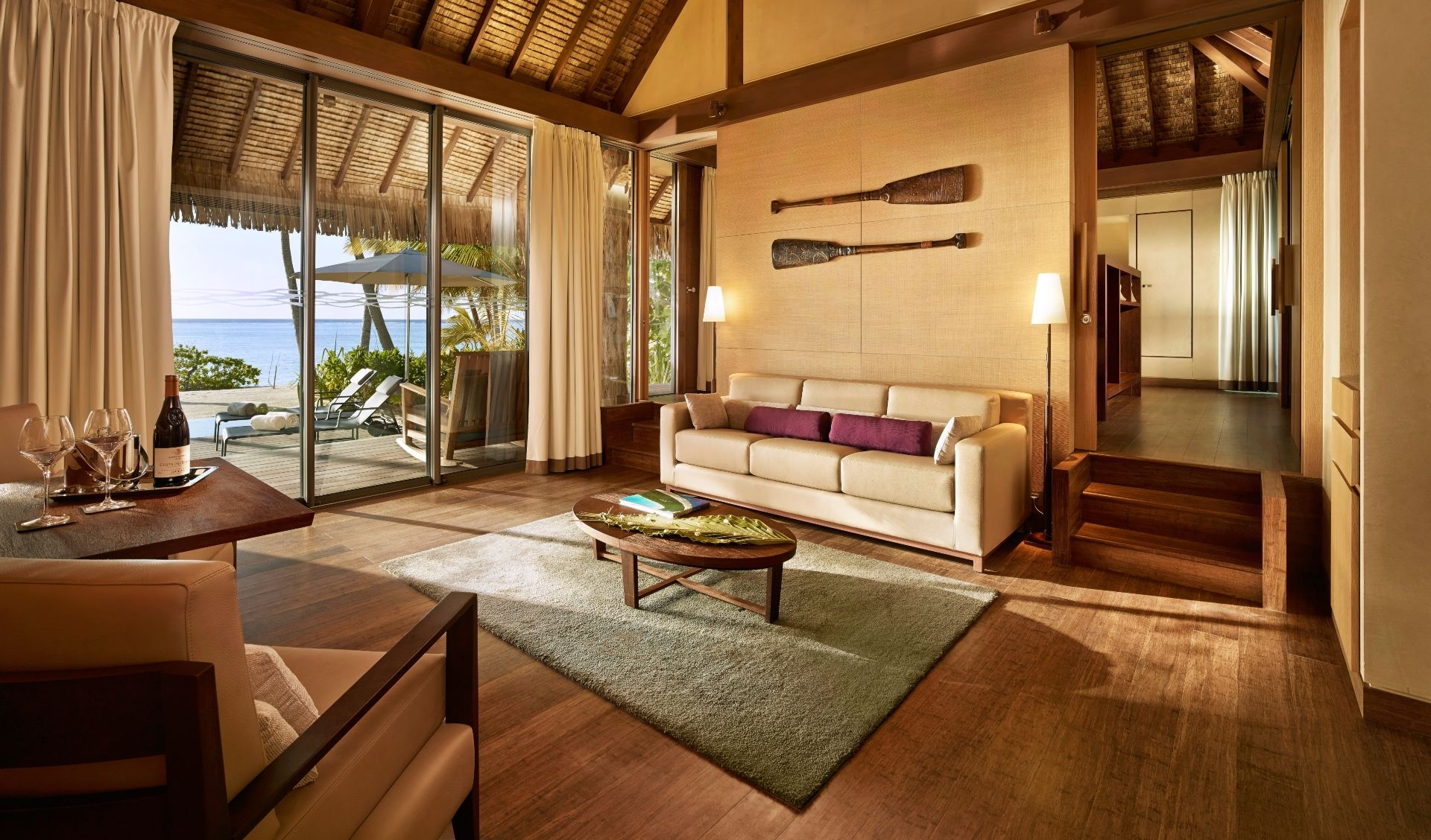 A One bedroom Villa living room
