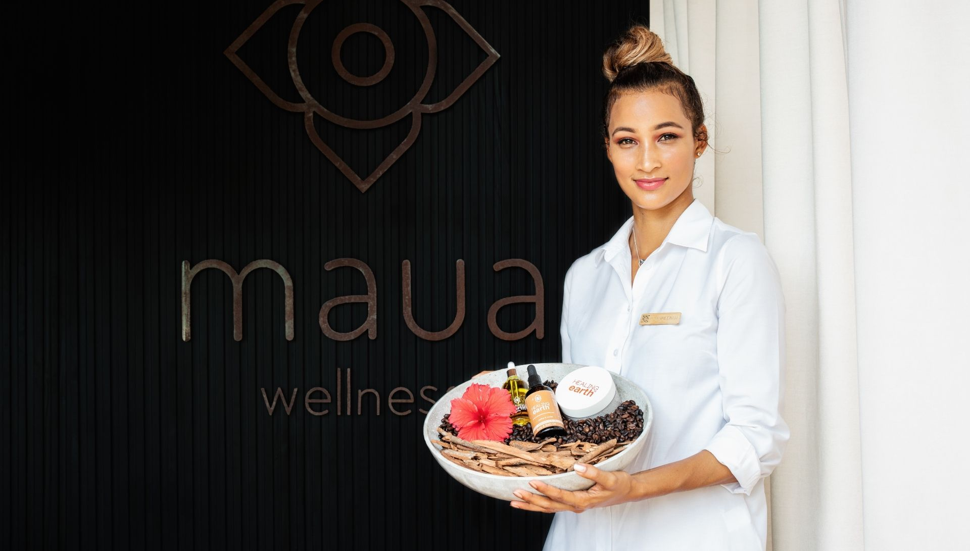 Maua wellness with locally sourced products