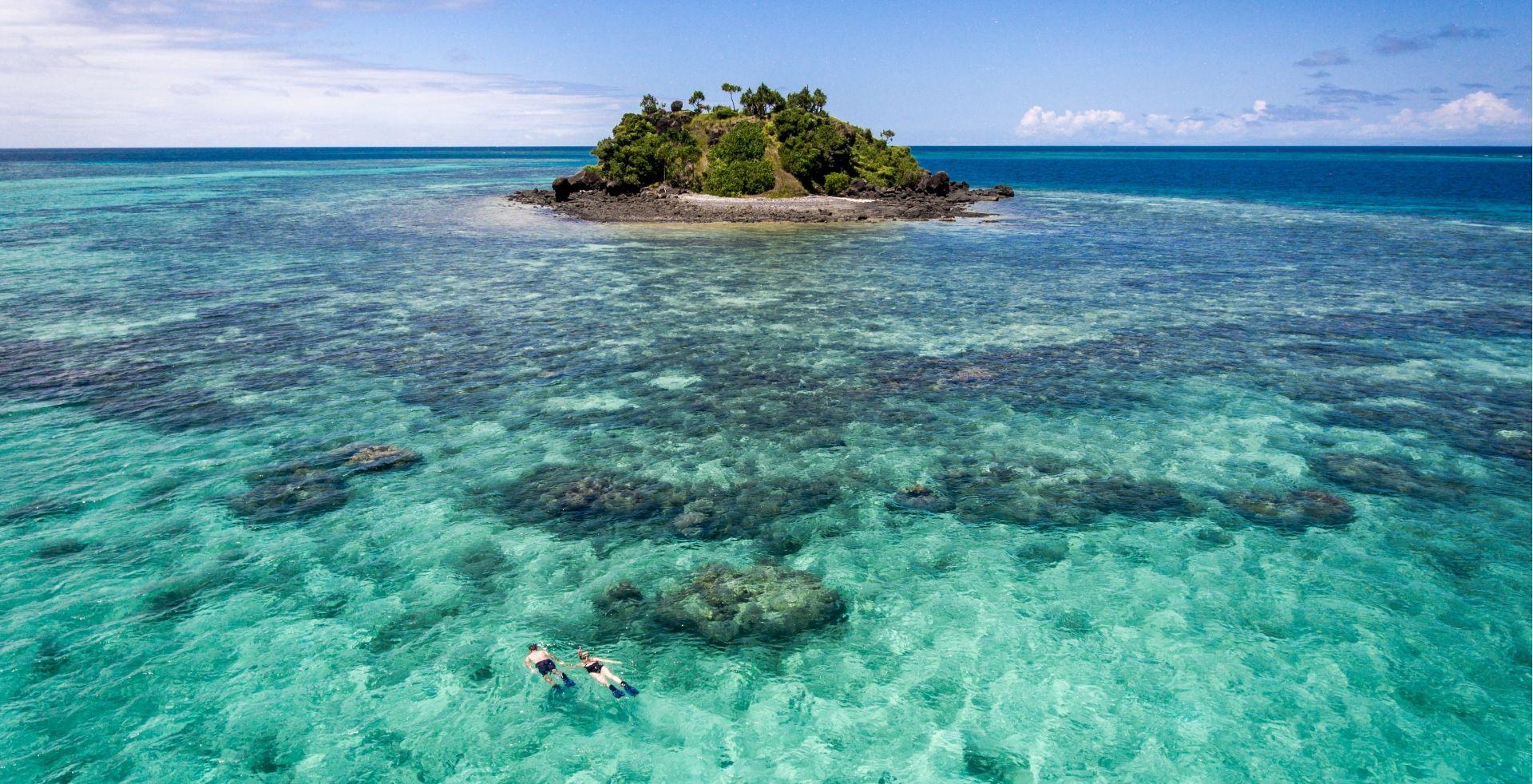 Snorkeling Fiji style