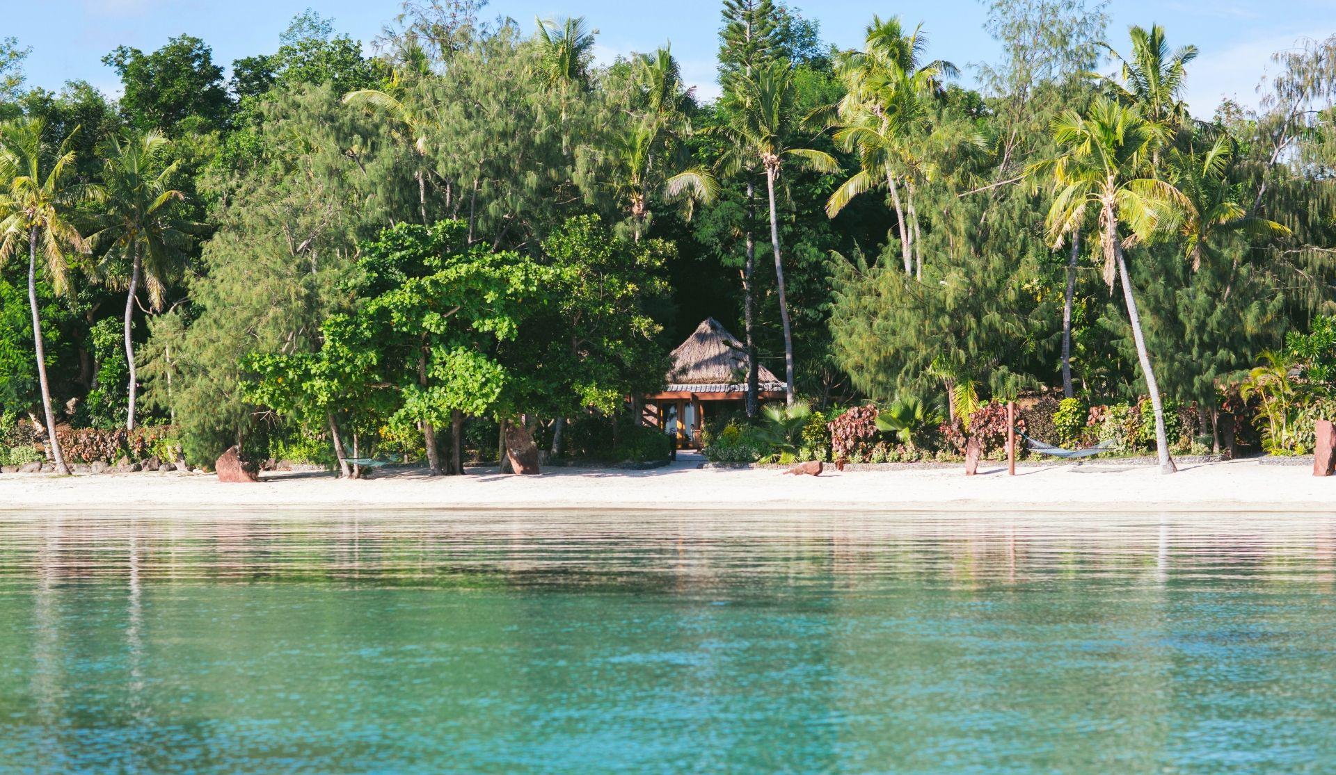 Turtle Island Water's Edge Villa exterior