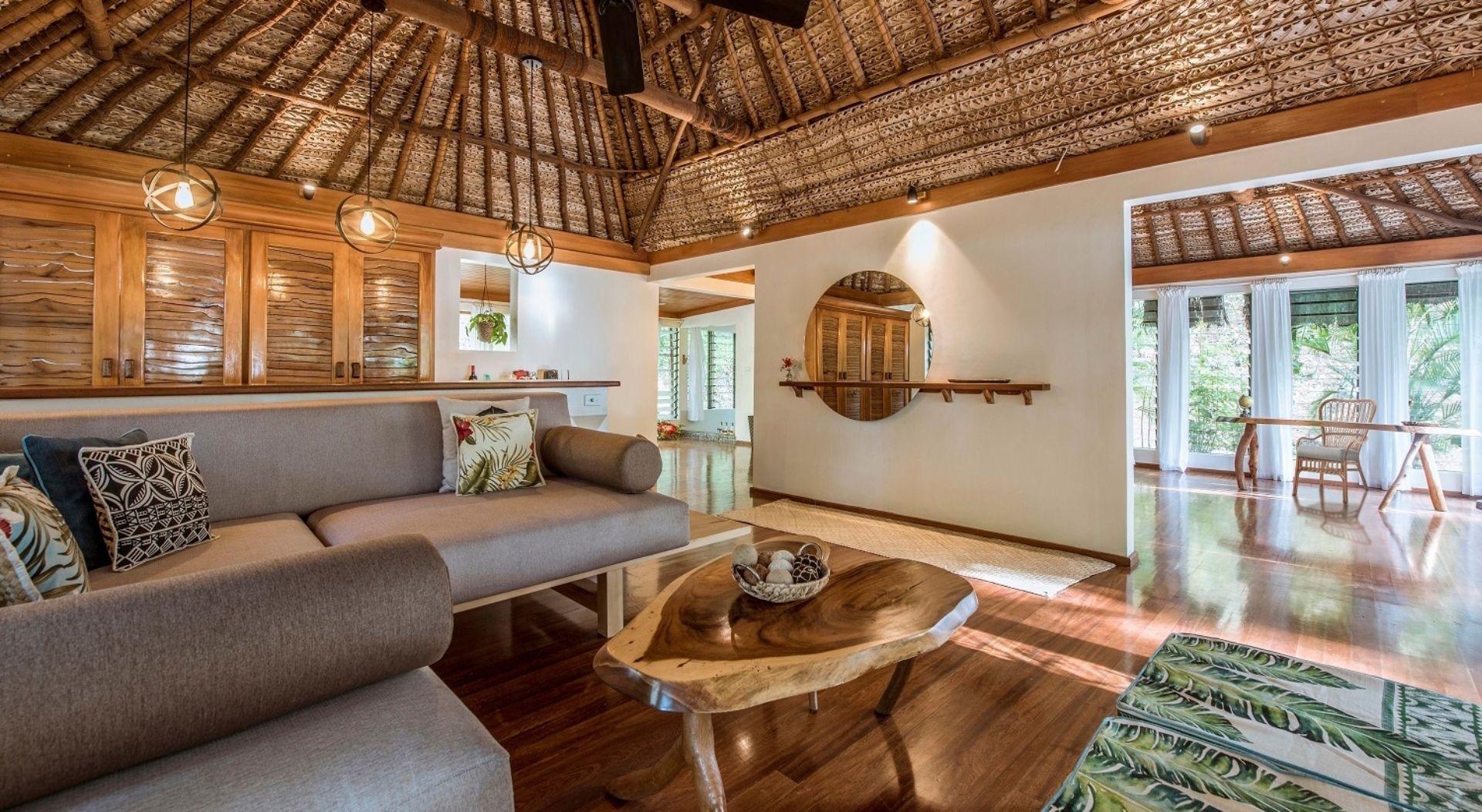 Turtle Island Villa interior