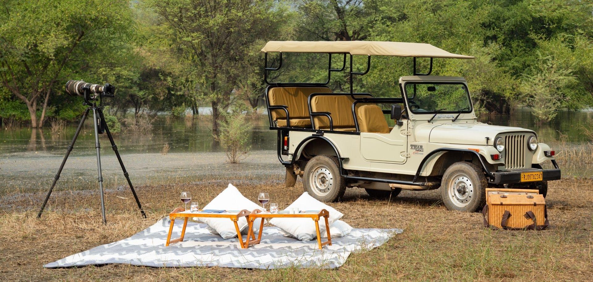 RAAS Chhatrasagar – Jeep safari