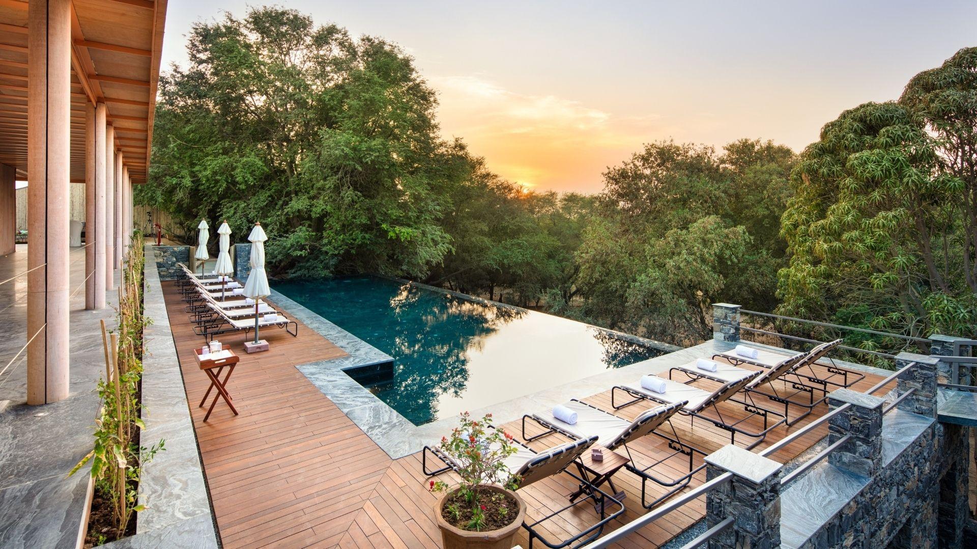 RAAS Chhatrasagar – The Pool