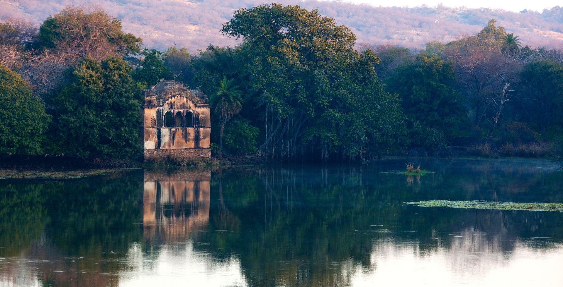 SUJAN Sher Bagh – Ranthambore lake and ruined palace