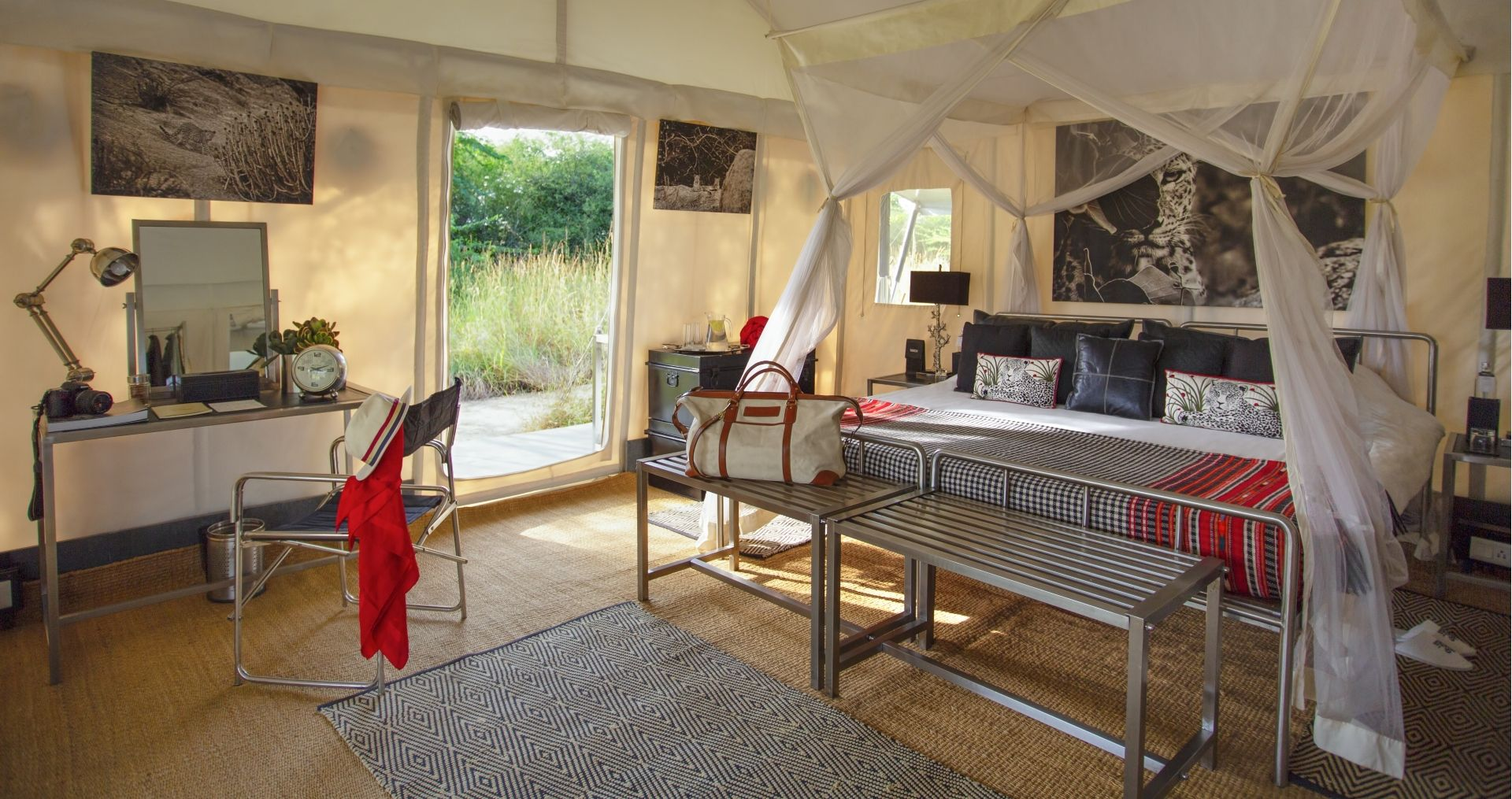 SUJAN Jawai – Luxury tent interior