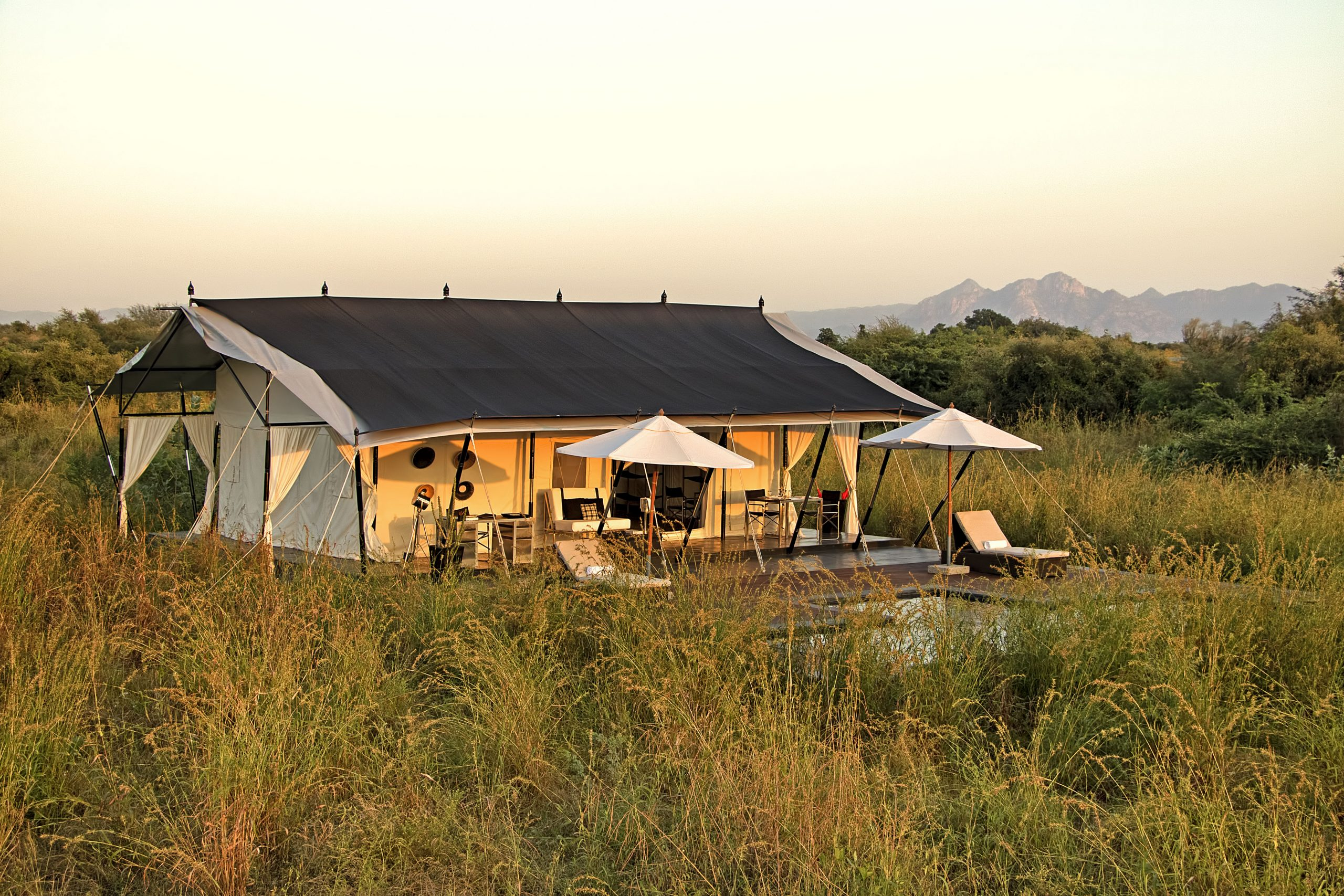 SUJAN Jawai – Royal Tented Suite exterior