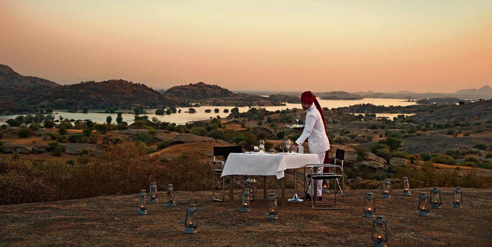 SUJAN Jawai – Private dining